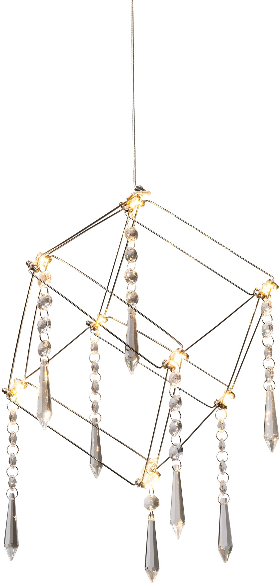 näve LED Pendelleuchte Araneus, LED-Board, 1 St., Warmweiß, LED Hängelampe, LED Hängeleuchte