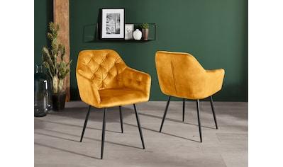 Home affaire Armlehnstuhl »Kira«, 2 Stück kaufen