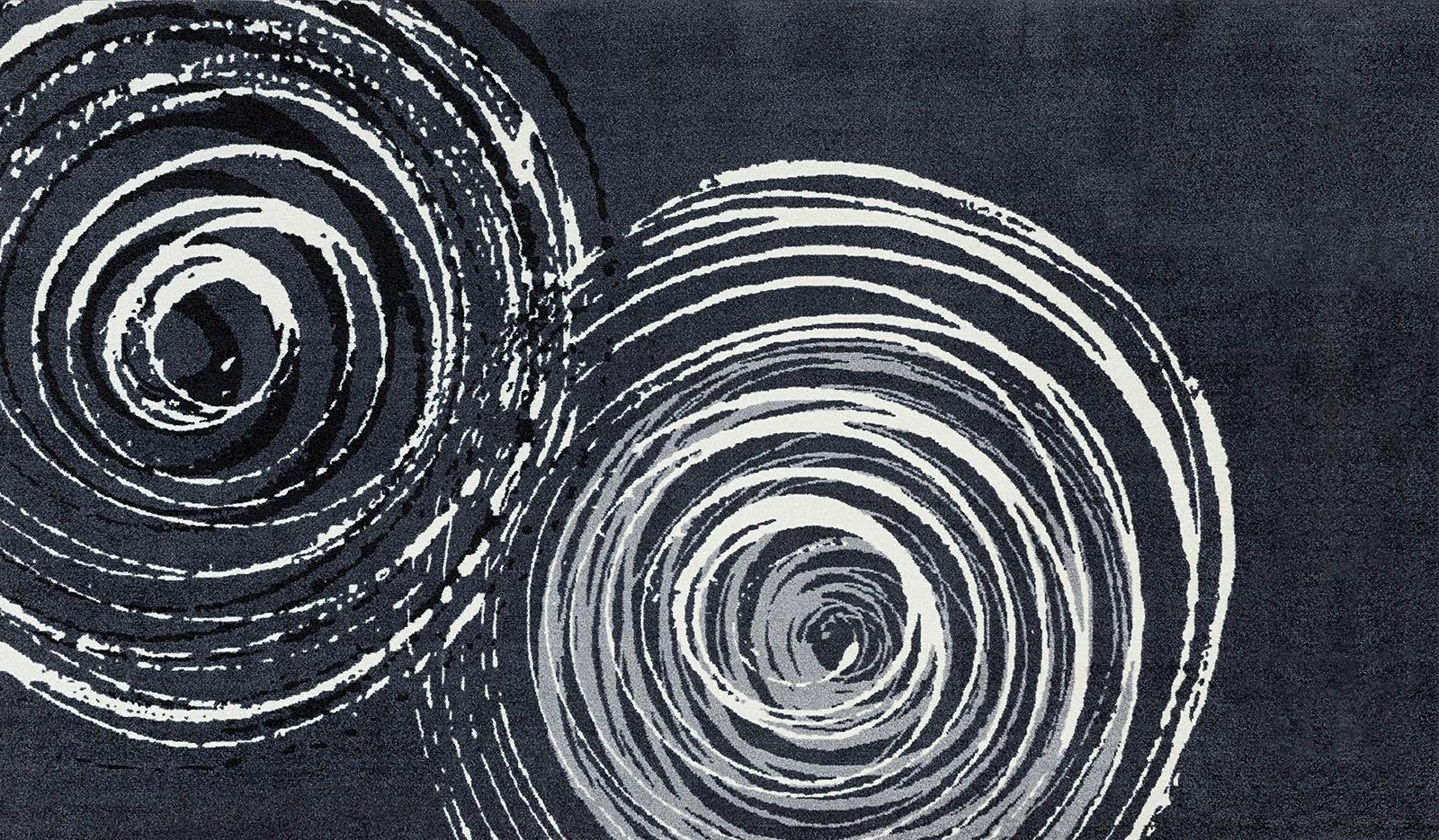 Teppich Swirl wash+dry by Kleen-Tex rechteckig Höhe 9 mm gedruckt