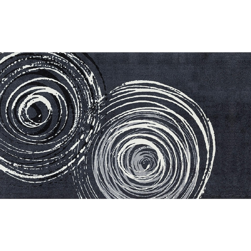 wash+dry by Kleen-Tex Läufer »Swirl«, rechteckig, 9 mm Höhe, In- und Outdoor geeignet, waschbar