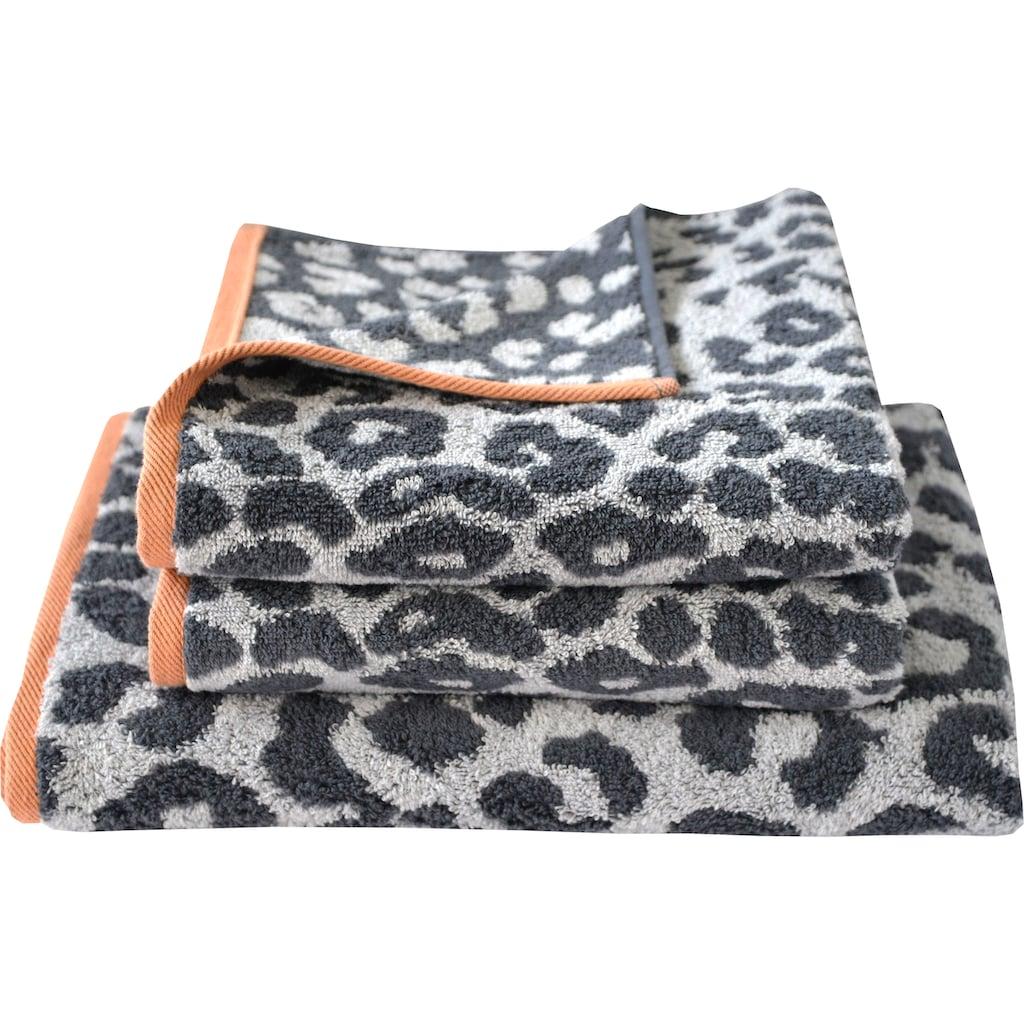 Dyckhoff Handtuch Set »Leo«, mit Leoparden-Muster
