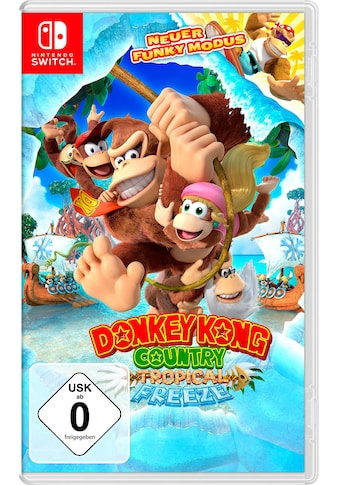Donkey Kong Country: Tropical Freeze Nintendo Switch kaufen