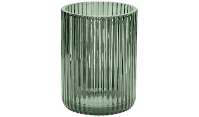 Kleine Wolke Zahnputzbecher »Antoinette«, Accessoire Serie aus Glas mit geriffelter Oberfläche kaufen