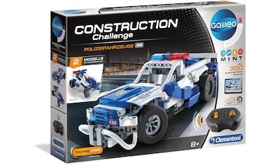 Clementoni® Modellbausatz »Galileo Construction Challenge Polizeifahrzeuge«, mit... kaufen