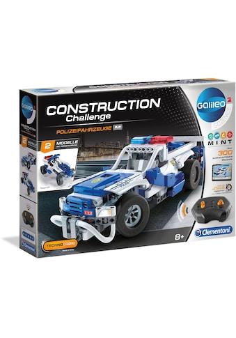 """Clementoni® Modellbausatz """"Galileo Construction Challenge  -  Polizeifahrzeuge"""" kaufen"""
