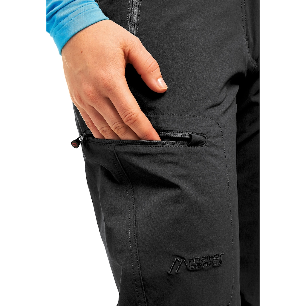 Maier Sports Funktionshose »Rechberg«, Warme Outdoorhose, elastisch, schnelltrocknend