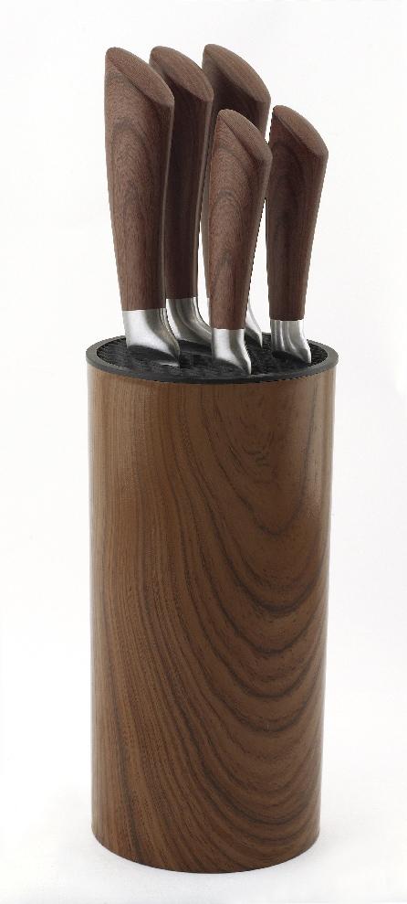 Esmeyer Messerblock Nebraska (6tlg) Wohnen/Haushalt/Haushaltswaren/Besteck & Messer/Küchenmesser-Sets/Messerblöcke