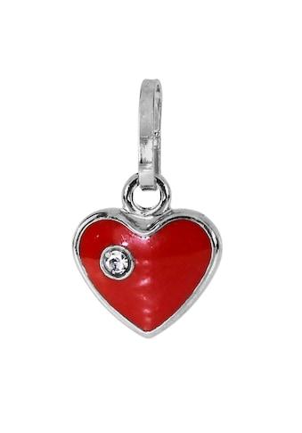 OSTSEE-SCHMUCK Kettenanhänger »- kleines Herz - Silber 925/000 - Glas«, (1 tlg.) kaufen