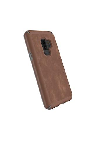 Speck HardCase »Presidio Folio Leather Samsung Galaxy S9 Plus Sadd« kaufen