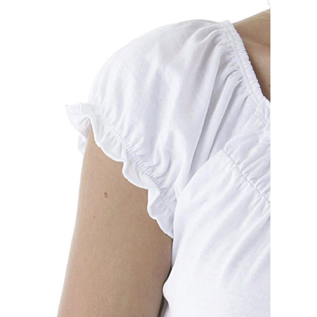 Aniston CASUAL T-Shirt, mit Carmenausschnitt