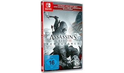 Assassin's Creed 3 Remastered Nintendo Switch kaufen