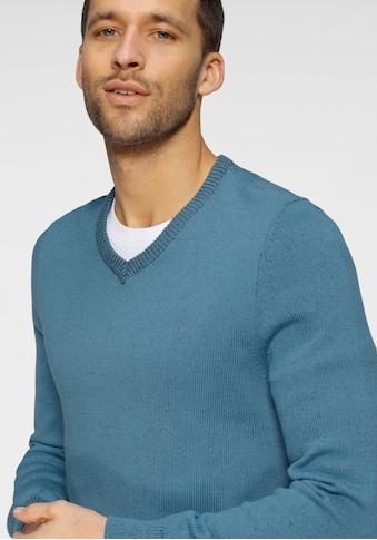 OTTO products V-Ausschnitt-Pullover, aus zertifizierter Bio-Baumwolle kaufen