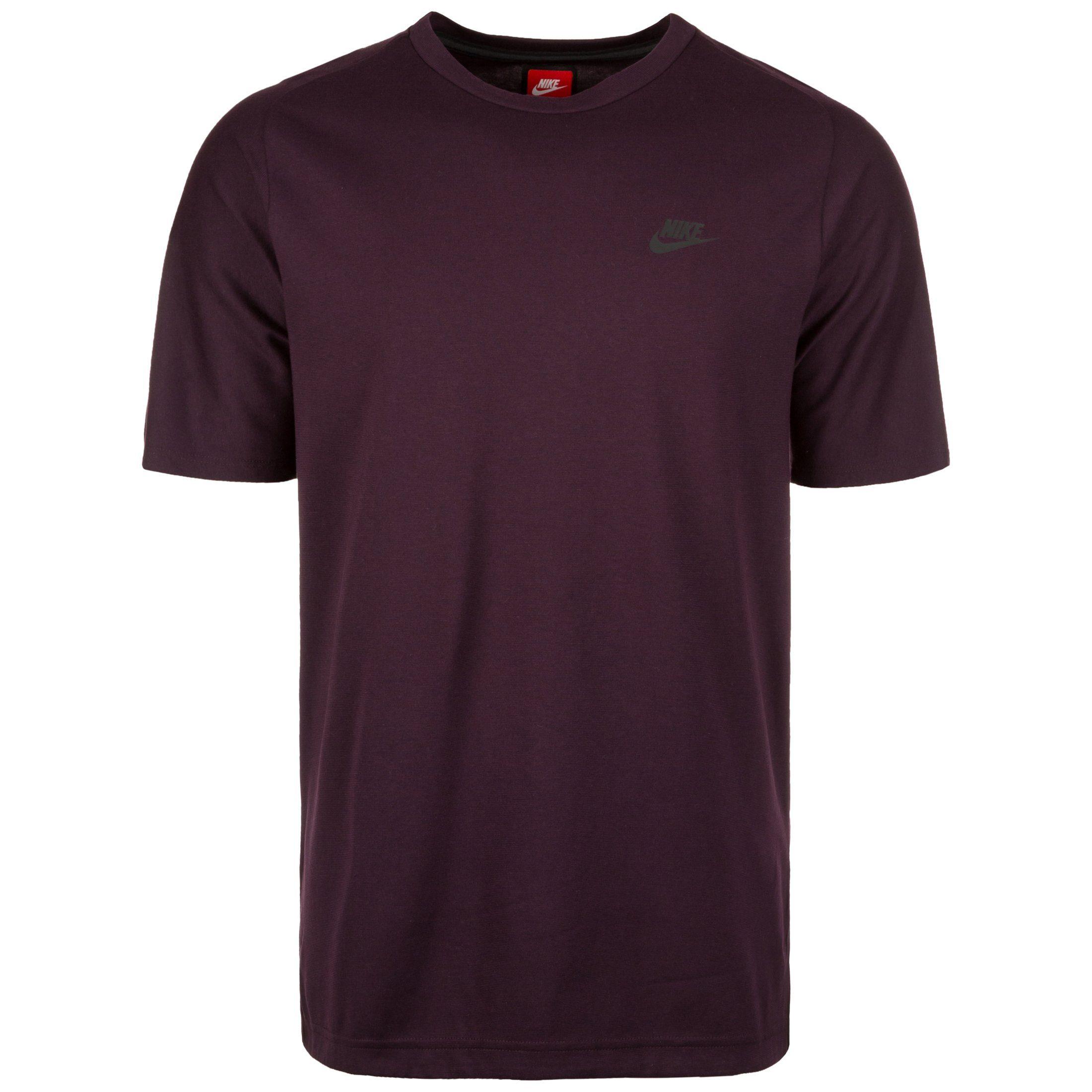 Nike Sportswear T-Shirt Bonded | Sportbekleidung > Sportshirts > T-Shirts | Rot | Nike Sportswear