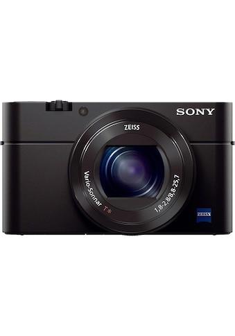 Sony Kompaktkamera »Cyber-Shot DSC-RX100M3«, Carl Zeiss Vario Sonnar T (F1.8-F2.8), 180° schwenkbares Xtra Fine WhiteMagic LC-Display kaufen