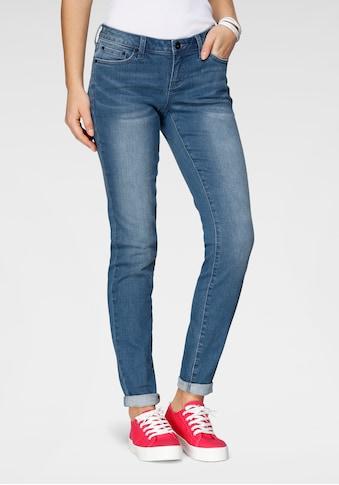 H.I.S Slim-fit-Jeans »low waist«, Nachhaltige, wassersparende Produktion durch OZON WASH kaufen