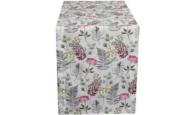 HOSSNER - HOMECOLLECTION Tischläufer »32487 Flora«, (1 St.) kaufen