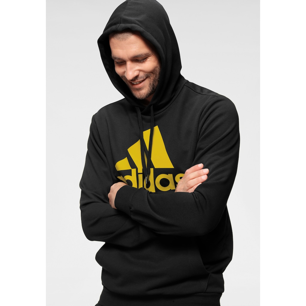 adidas Performance Jogginganzug »AEROREADY Essentials Kangaroo Pocket Big Logo Trainingsanzug«