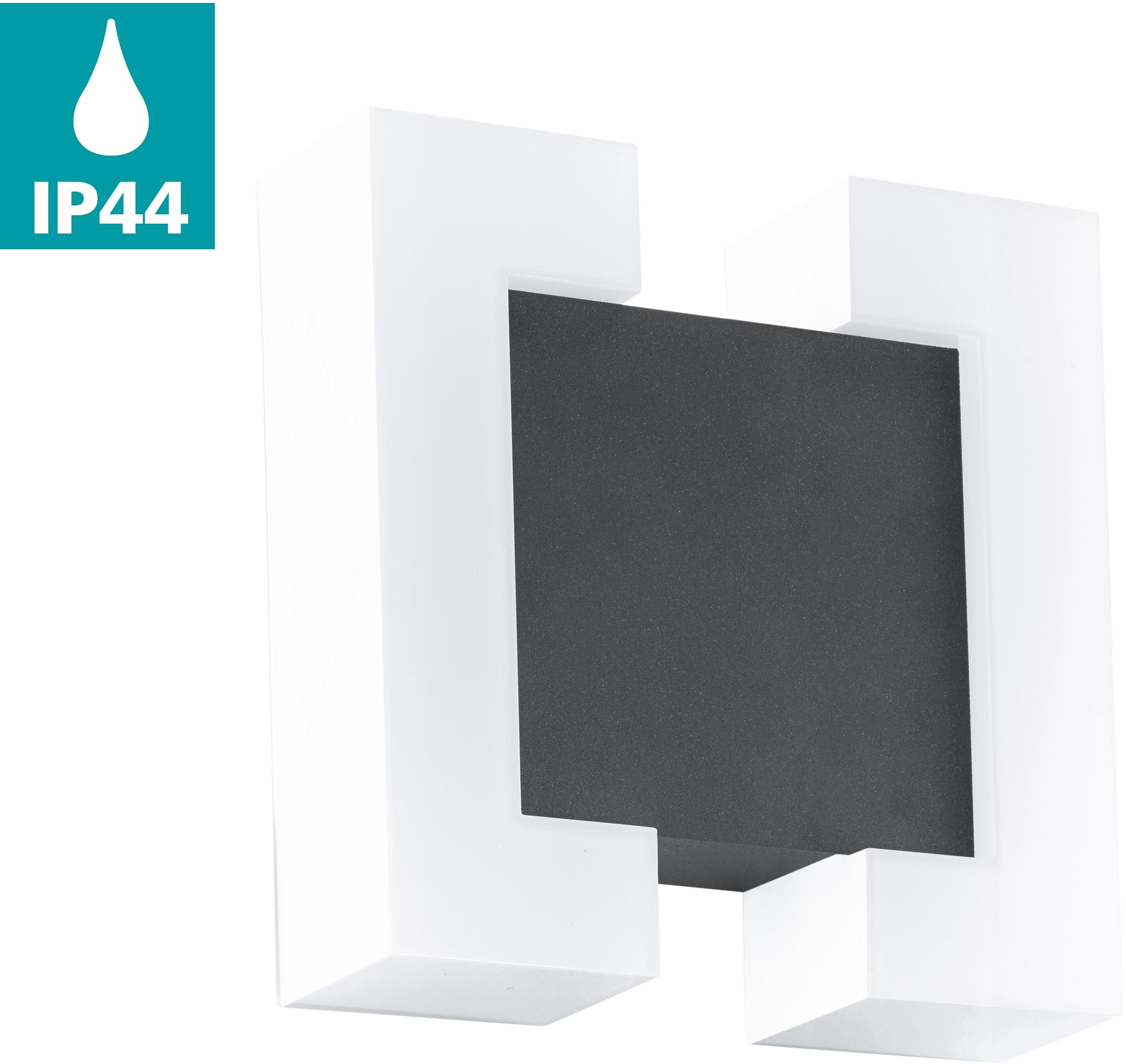 EGLO LED Außen-Wandleuchte SITIA, LED-Board, Warmweiß, LED tauschbar