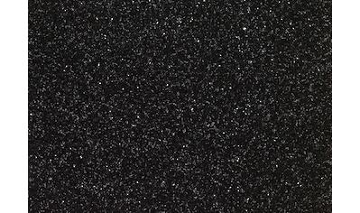 Kunstrasen »Lanzarote«, Breite 200 cm, schwarz, Meterware kaufen