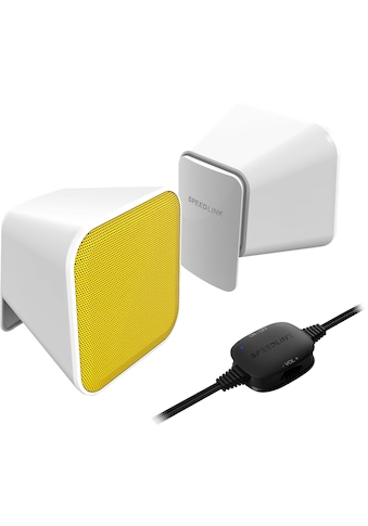 Speedlink »Speedlink SNAPPY Stereo Lautsprecher« PC - Lautsprecher kaufen