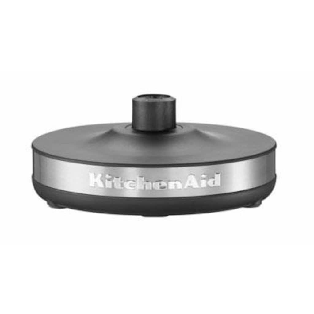 KitchenAid Wasserkocher »5KEK1722EOB«, 1,7 l, 2400 W, schwarz
