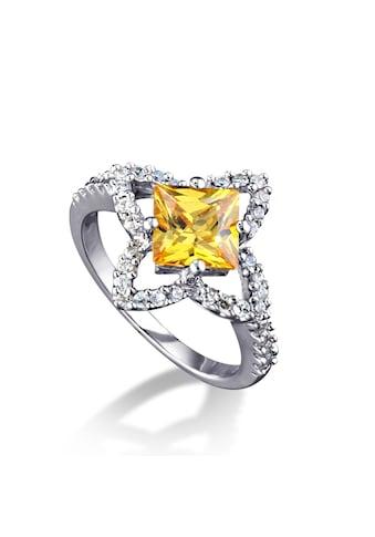 MONA MON'AMOUR Ring »925/ -  Sterling Silber rhodiniert Zirkonia gelb« kaufen