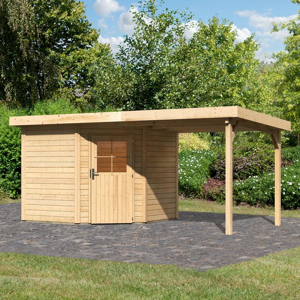 WOODFEELING Set: Gartenhaus »Neuruppin 2«, BxT: 525x273 cm