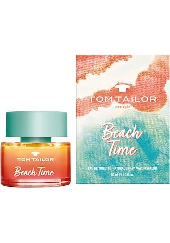 TOM TAILOR Eau de Toilette »Beach Time« kaufen