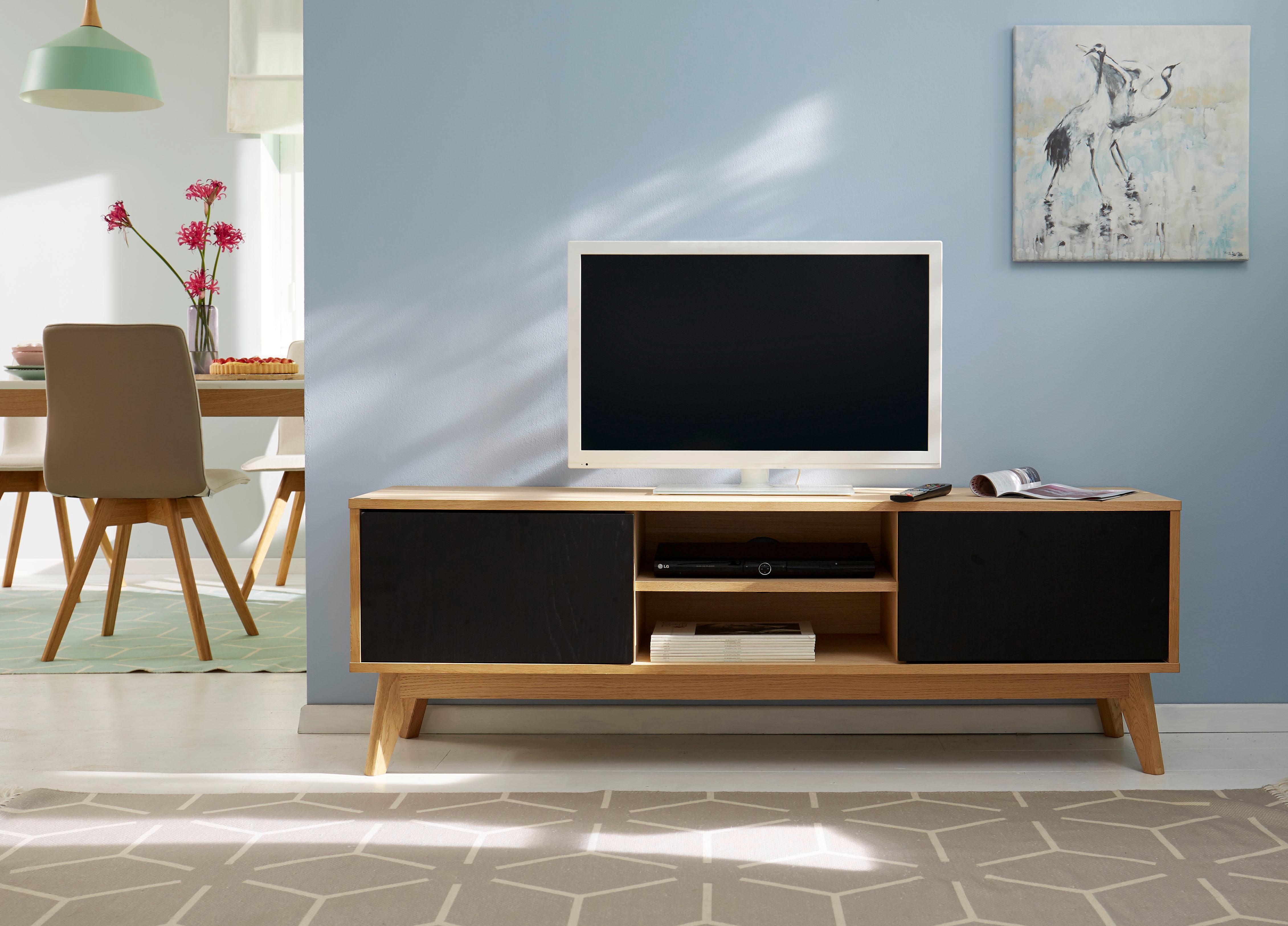 gmk home living tv lowboard calluna in trendigem skandinavischem design breite 158 cm