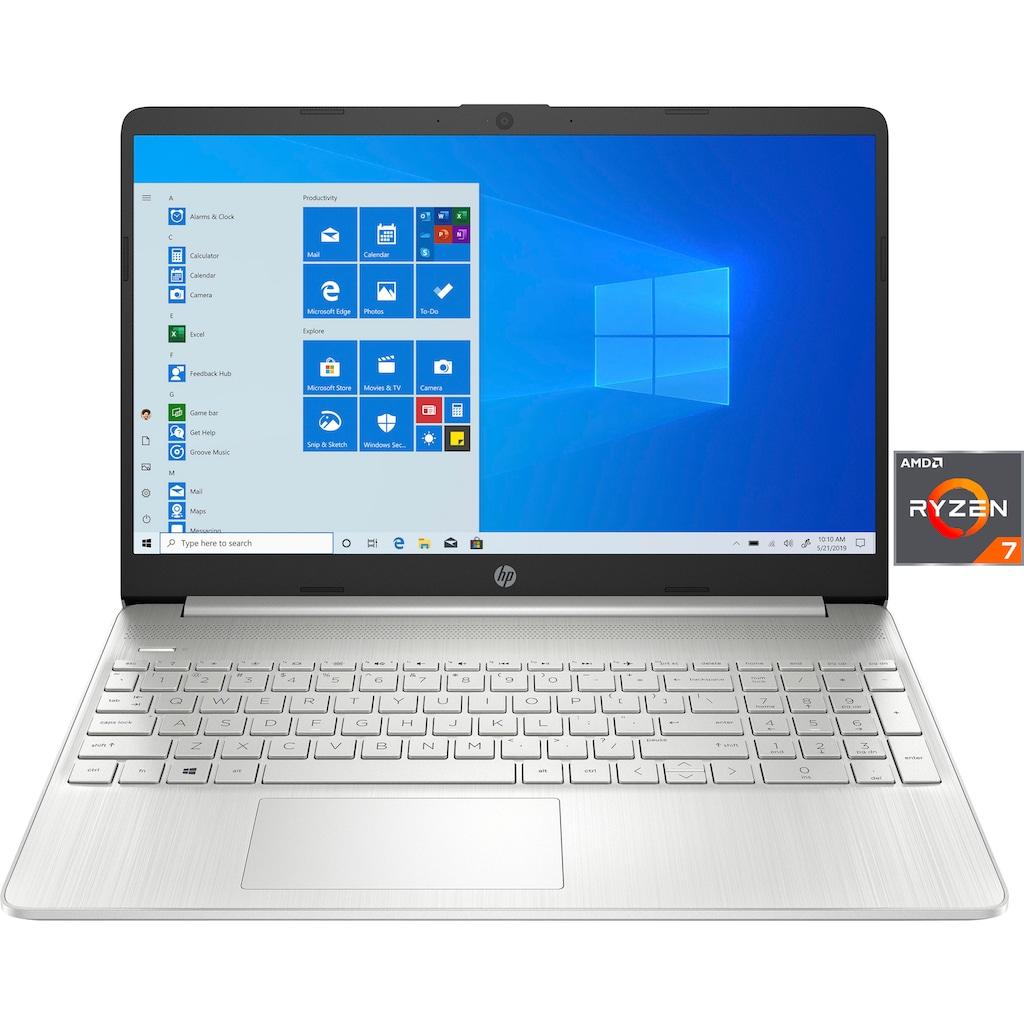 """HP Notebook »15s-eq2206ng«, (39,6 cm/15,6 """" AMD Ryzen 7 Radeon Graphics\r\n 512 GB SSD), Kostenloses Upgrade auf Windows 11, sobald verfügbar"""