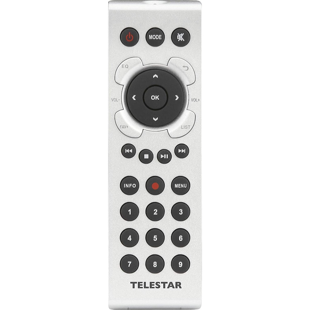TELESTAR Internet-Radio »M 12i«, ( Digitalradio (DAB+)-FM-Tuner-Internetradio ), USB Musikplayer, MP3, WMA, AAC, WiFi