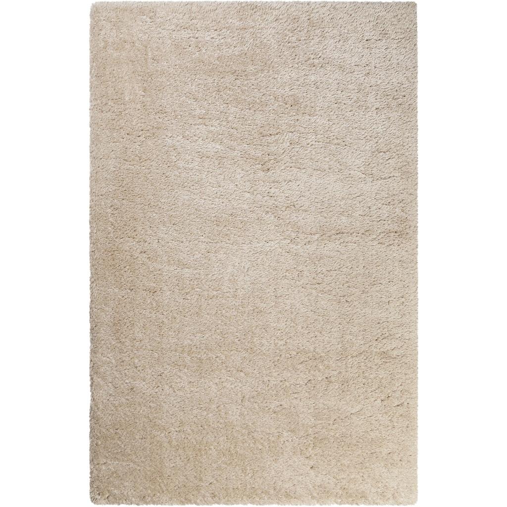 Wecon home Hochflor-Teppich »Toubkal«, rechteckig, 50 mm Höhe, Wohnzimmer