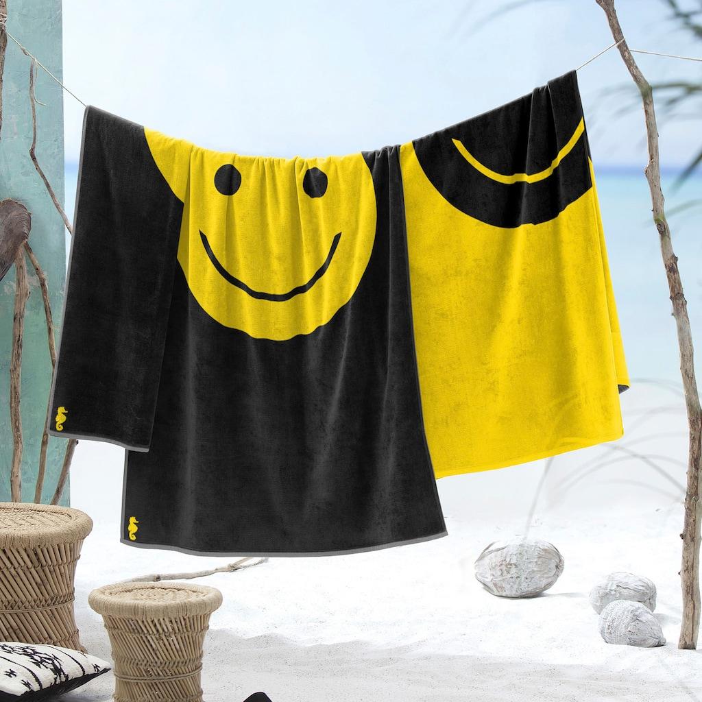 Seahorse Strandtuch »Smile«, (1 St.)