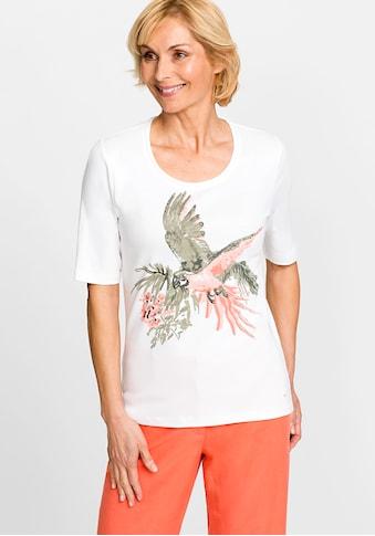 Olsen Rundhalsshirt, mit Papagei kaufen