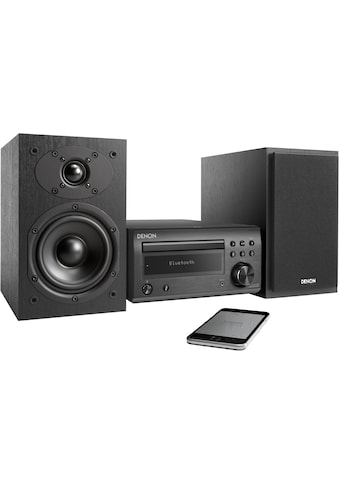 Denon Microanlage »D-M41«, (Bluetooth Digitalradio (DAB+)-FM-Tuner mit RDS 60 W),... kaufen