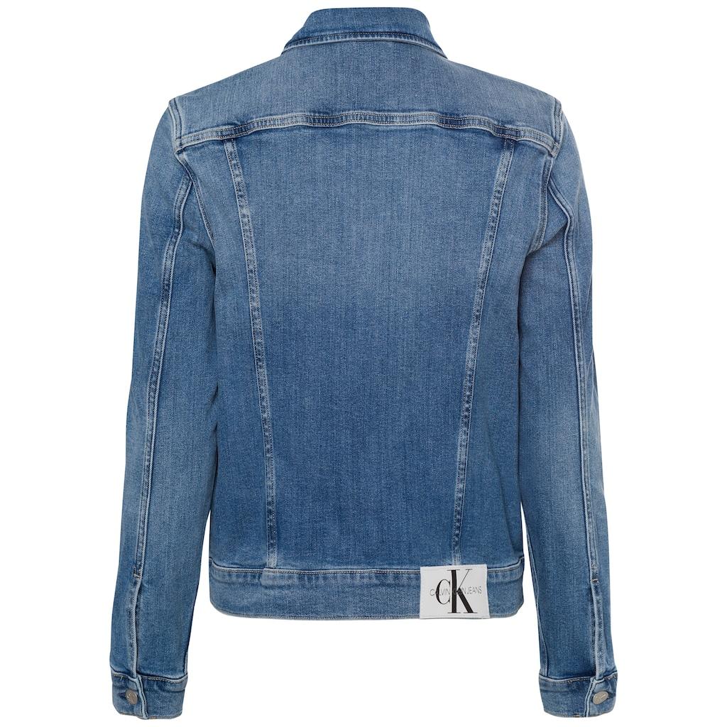 Calvin Klein Jeans Jeansjacke »REGULAR 90'S DENIM JACKET«, im typischen Calvin Klein Jeans Marken-Design