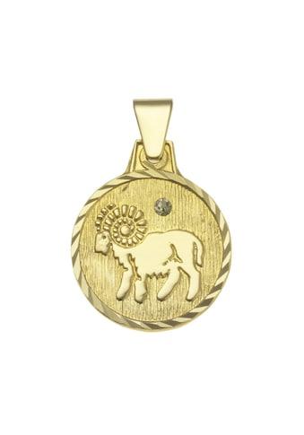 Vivance Anhänger Sternzeichen Widder »333/ -  Gelbgold« kaufen