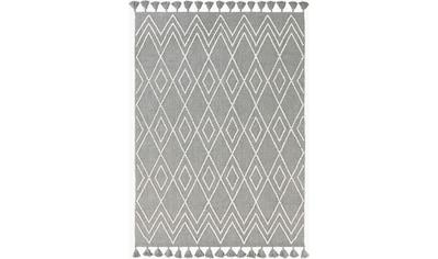 elbgestoeber Teppich »Elblauf«, rechteckig, 17 mm Höhe, In-und Outdoor geeignet,mit... kaufen