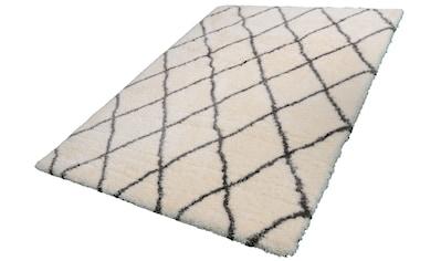 Hochflor - Teppich, »Floki 80075«, merinos, rechteckig, Höhe 70 mm, maschinell gewebt kaufen