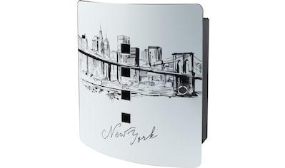 Burg Wächter Schlüsselkasten »6204/10 Skyline NY«, Magnettür kaufen