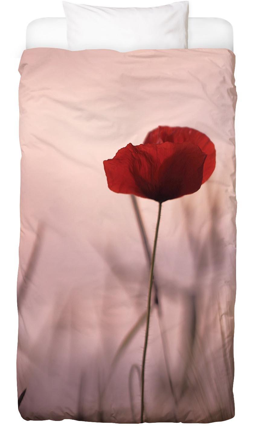 Bettwäsche Rose Papermoon Juniqe