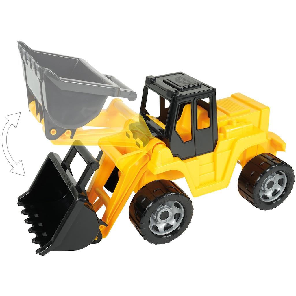 Lena® Spielzeug-Radlader »Giga Trucks, Aufsitz-Schaufellader«, Made in Europe