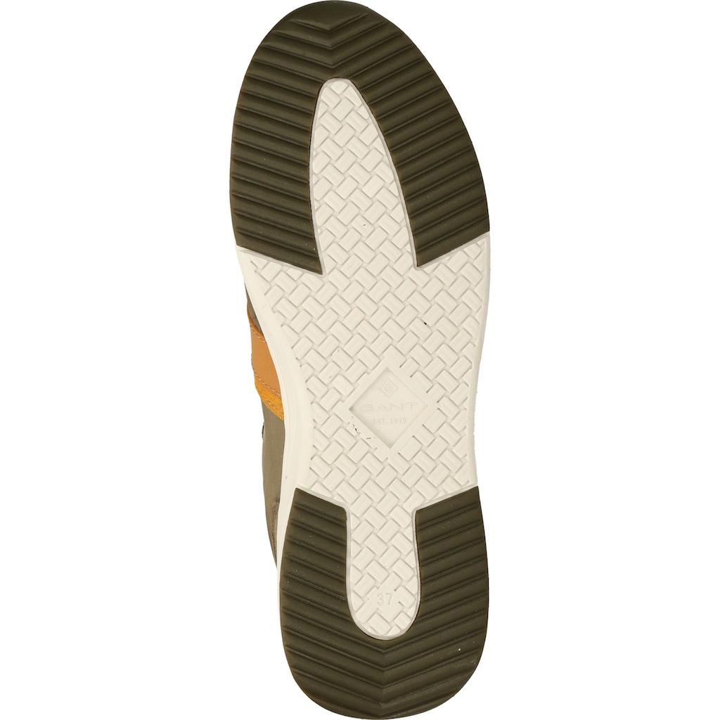 Gant Sneaker »Veloursleder/Textil«