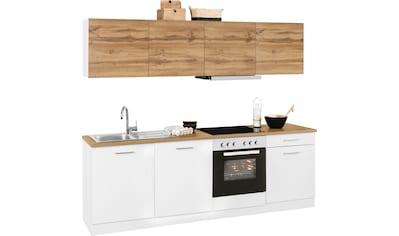 HELD MÖBEL Küchenzeile »Kehl«, mit E - Geräten, Breite 240 cm kaufen