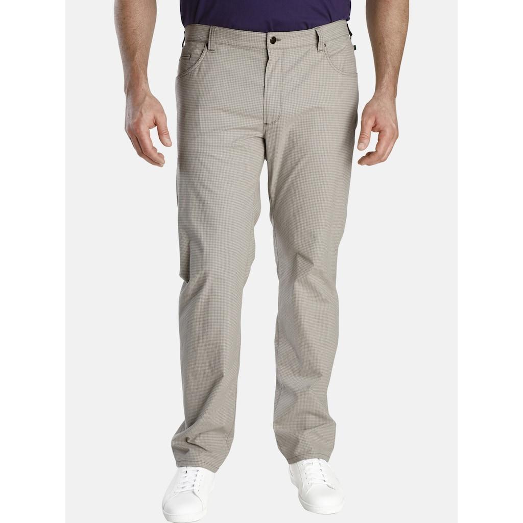 Charles Colby 5-Pocket-Hose »BARON JEFF«, seitlicher Dehnbund, Comfort Fit