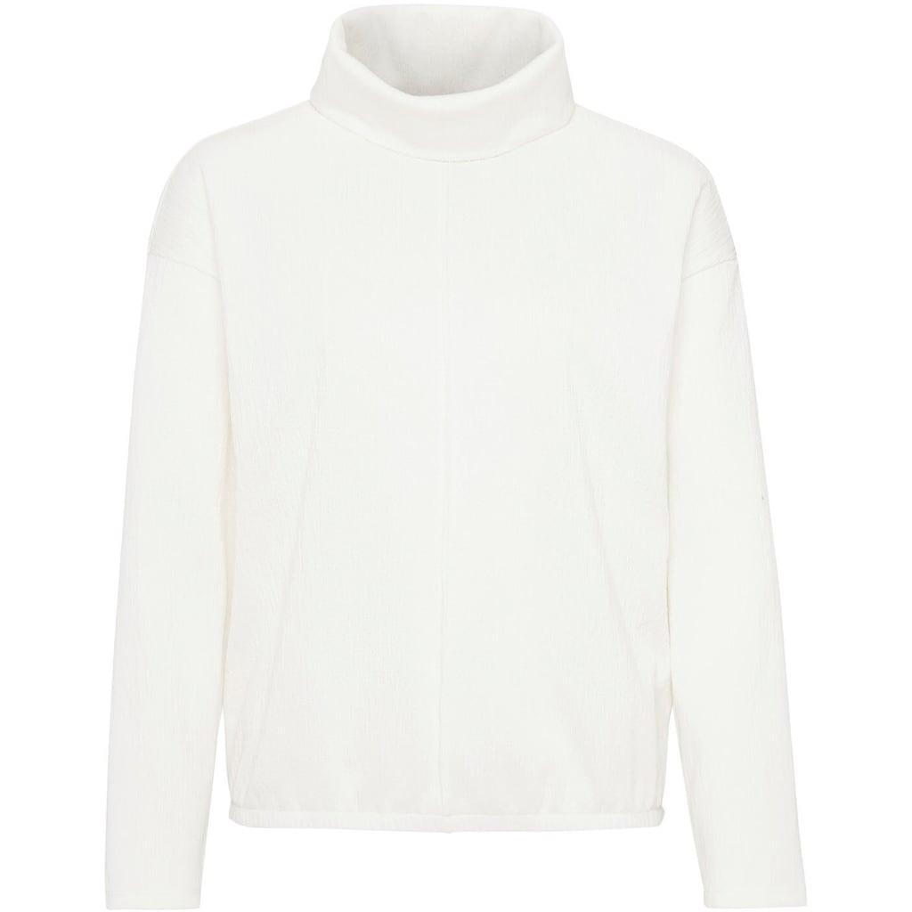 OPUS Sweatshirt »Glise«, mit weich fallendem Rollkragen