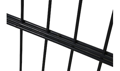 HOME DELUXE Doppelstabmattenzaun, 40 cm hoch, 5 Matten für 10 m Zaun, mit 6 Pfosten kaufen