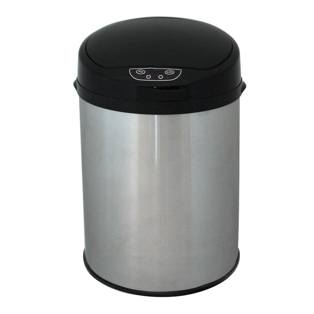 ECHTWERK Mülleimer »INOX BRUSHED«, Infrarot-Sensor, Fassungsvermögen 9 Liter