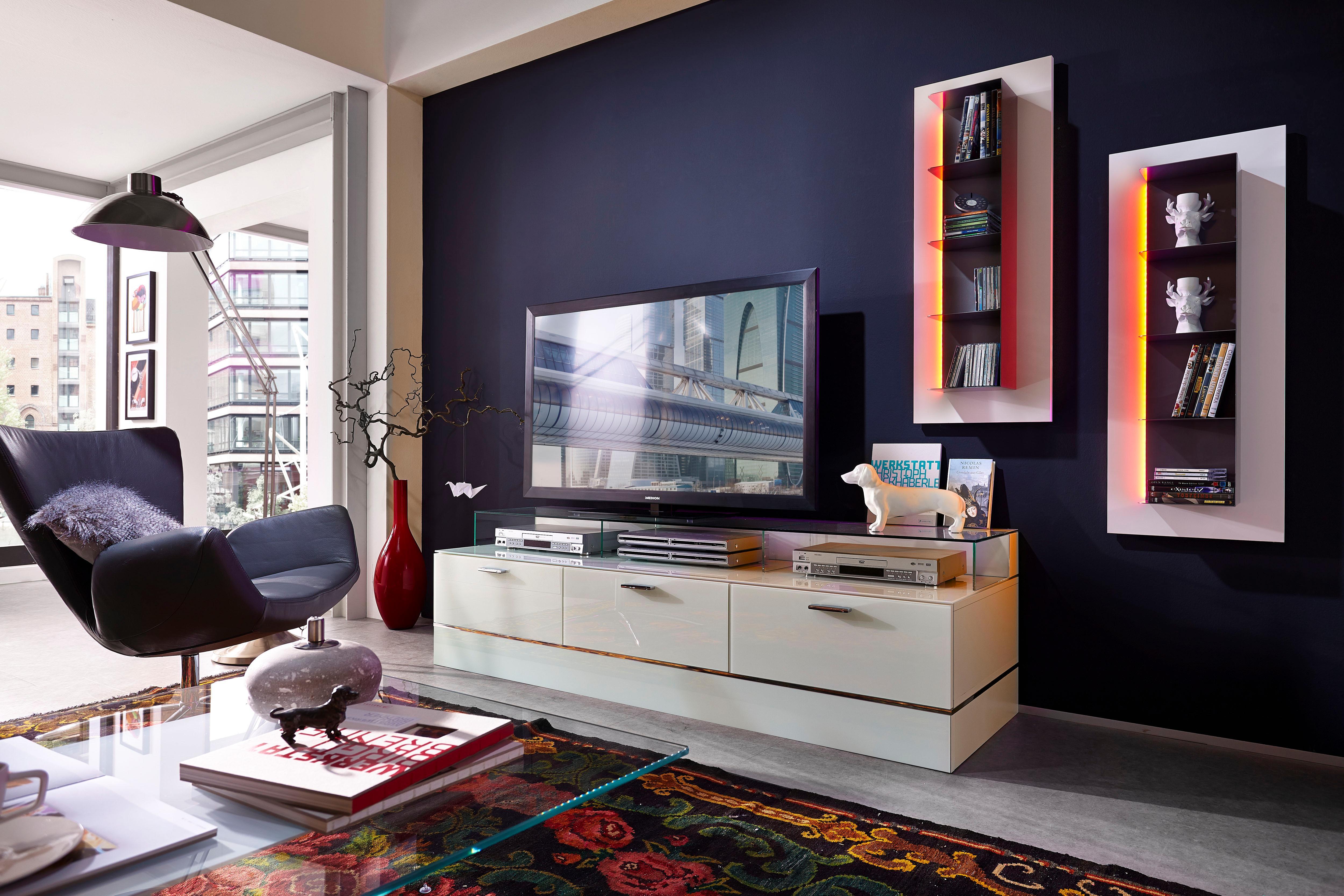 LEONARDO living TV-Bank »CUBE« für die Lowboard...