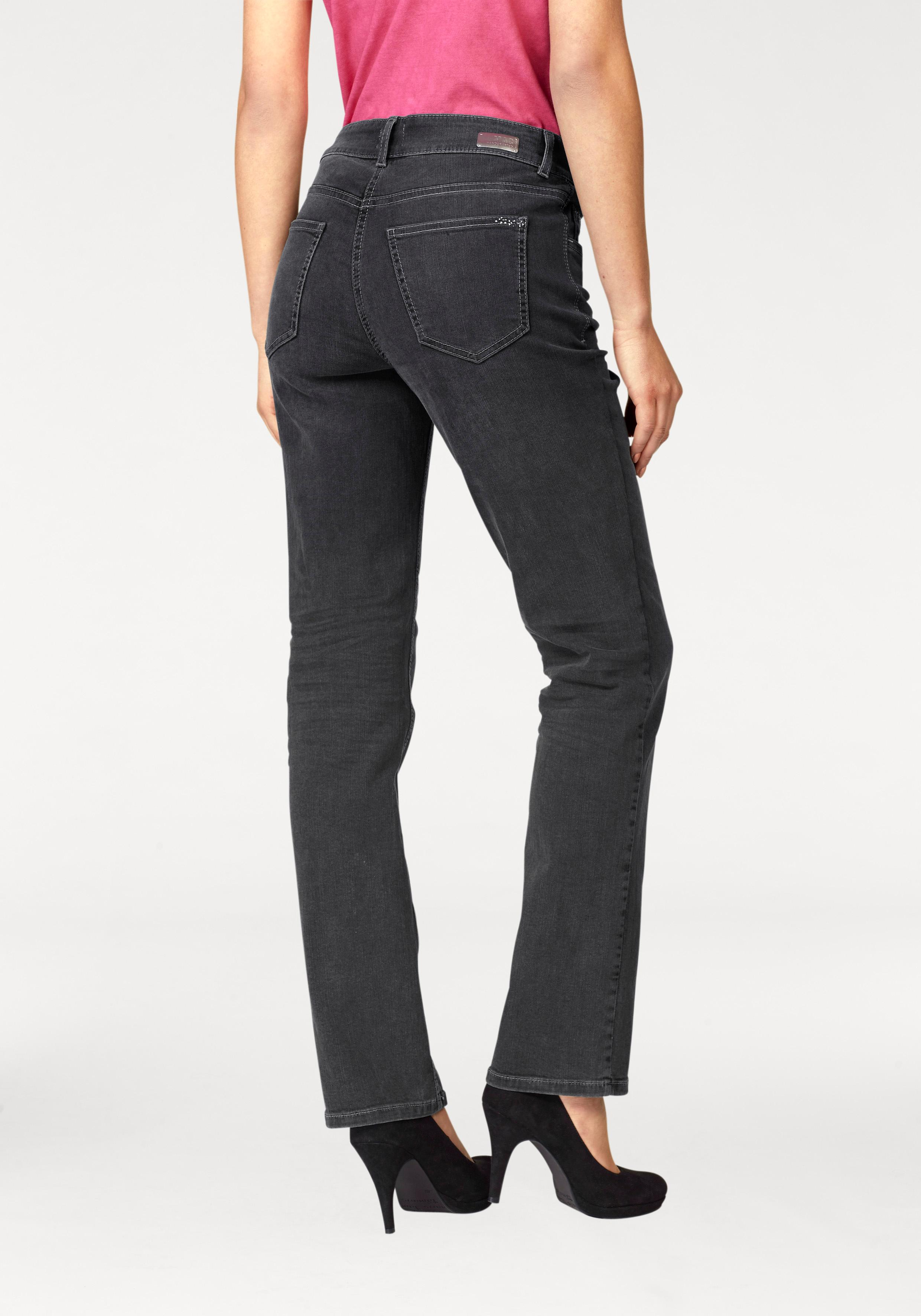 MAC 5-Pocket-Jeans Melanie Glam Pocket   Bekleidung > Jeans > 5-Pocket-Jeans   Schwarz   Mac